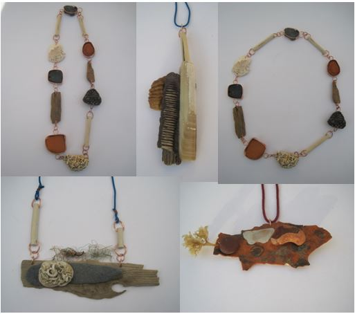 Found objects assembled by Jo Tallis.